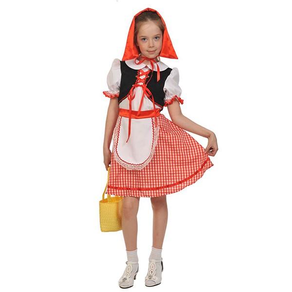 Карнавальный костюм Красная шапочка k5029