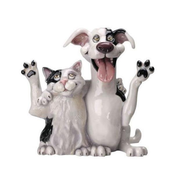 Фигурка кот и пес 520 Jack & Jill
