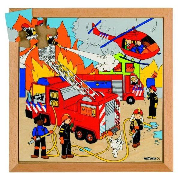Детская развивающая игра Пазл «Пожарные машины», серия «Спецтехника» арт. 522073