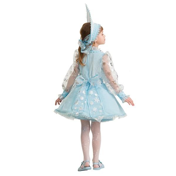 Снегурочка велюр голубая