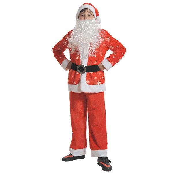 Костюм Санта Клаус плюш k7004