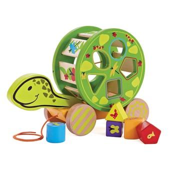 Детская развивающая игра Сортер-каталка Черепашка