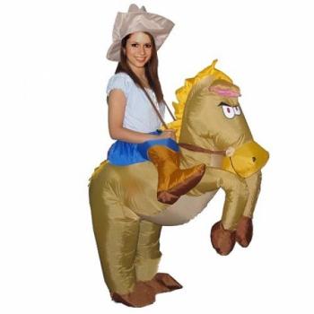 Надувной костюм Ковбой на Лошади арт. NK747