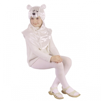 Маскарадный костюм Белый медведь Умка арт 7C-467