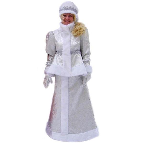 Маскарадный костюм Снегурочка русская арт. 7С-710Б