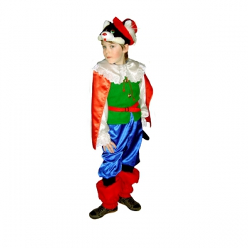 Маскарадный костюм Кот в сапогах арт. 7C-939