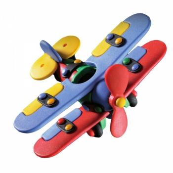 Детский игровой конструктор Самолет биплан малый
