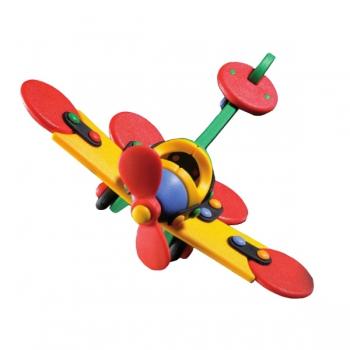 Детский игровой конструктор Самолет-стрекоза малый
