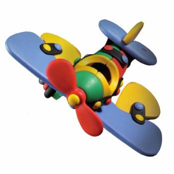Детский игровой конструктор Самолет-бабочка малый