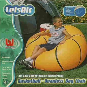 Надувное кресло Мяч