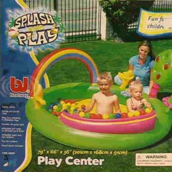 Игровой центр с шариками