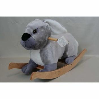 Мягкая игрушка Заяц-качалка арт. 95364