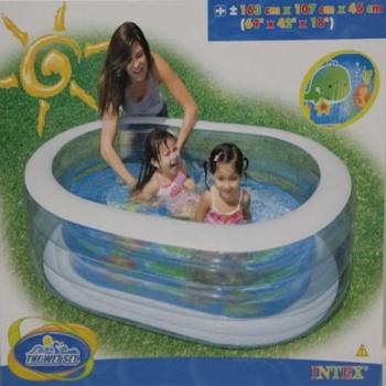 Надувной бассейн INTEX 6+