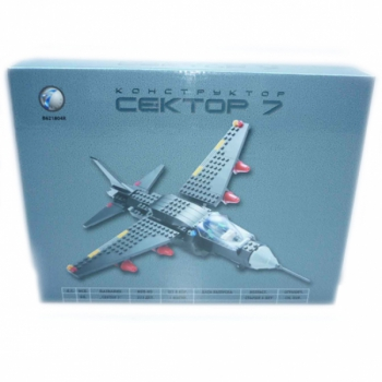 Детский игровой конструктор самолет