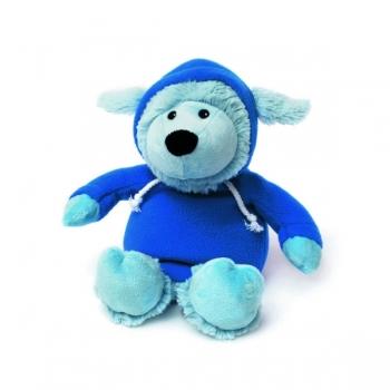 Игрушка грелка Овечка в худи голубая