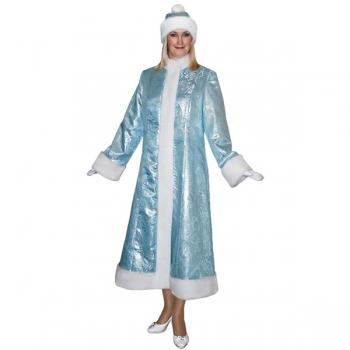 Карнавальный костюм Снегурочки арт S-107g