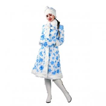 Карнавальный костюм Снегурочка Ледяной узор