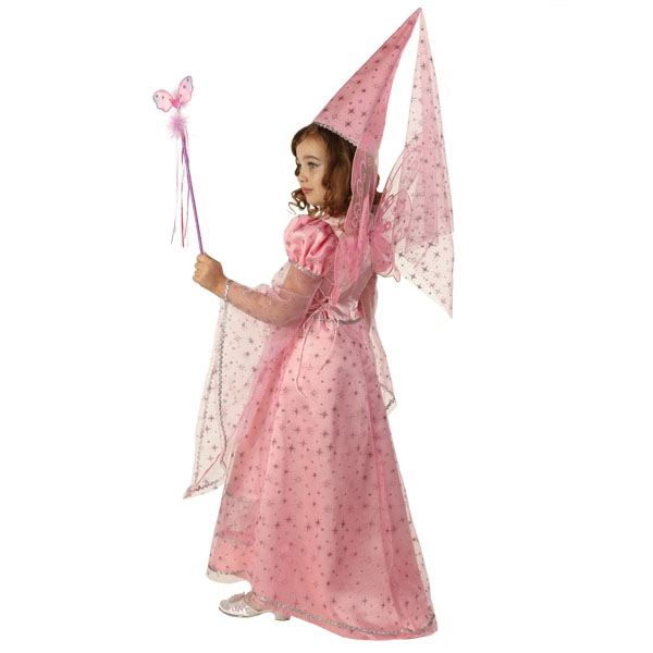 Карнавальный костюм Фея сказочная розовая
