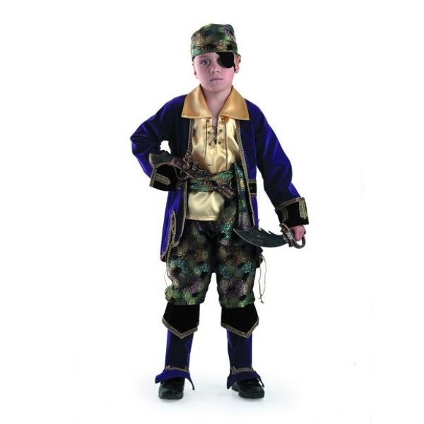Карнавальный костюм Капитан пиратов (лиловый)