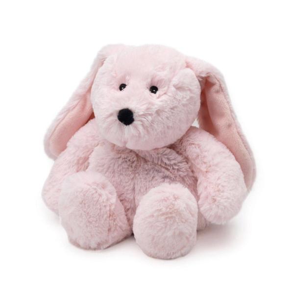 Игрушка-грелка Розовый кролик