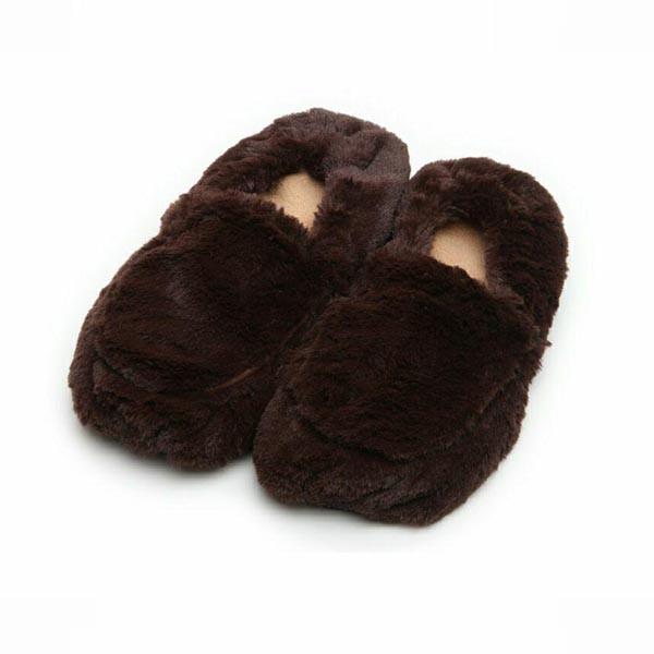 Тапочки для взрослых коричневые