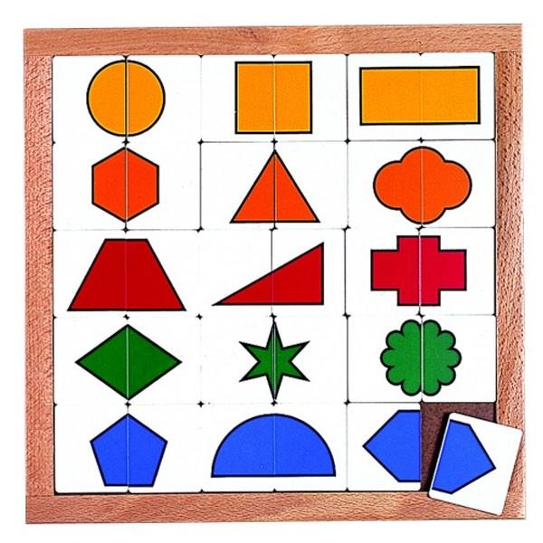 Детская развивающая игра Доска-сортер «Геометрические фигуры» арт. 522416
