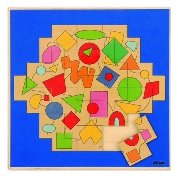 Детская развивающая игра Геометрический пазл «Фигуры» арт. 522966
