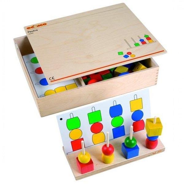 Детская развивающая настольная игра «Геометрические фигуры» арт. 522935