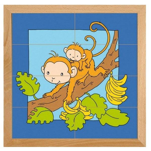 Детская развивающая игра Пазл «Обезьянка» арт. 522279