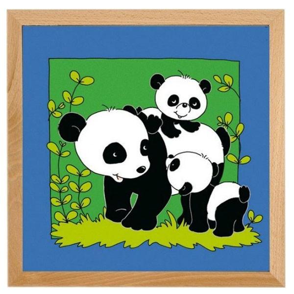 Детская развивающая игра Пазл «Панда» арт. 522278