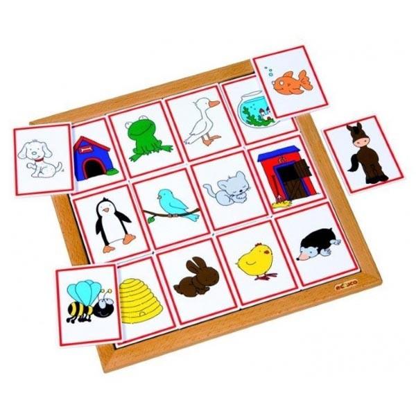 Детская развивающая настольная игра «Среда обитания животных» арт. 523077