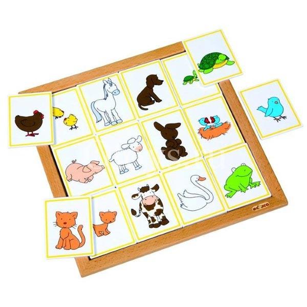 Детская развивающая настольная игра «Животные и их детеныши» арт. 523076