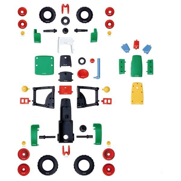 Детский игровой конструктор Трактор малый