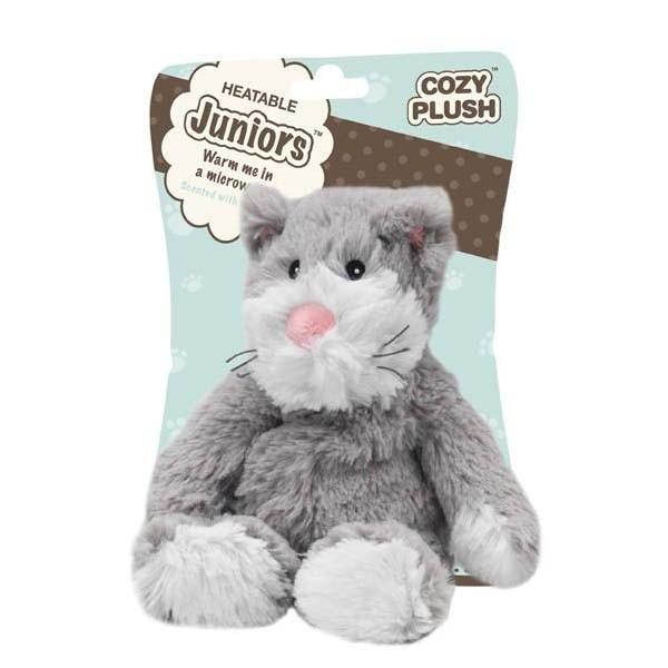 Игрушка грелка Кот Cozy Plush Junior