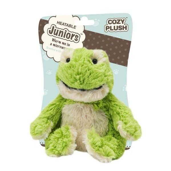 Игрушка грелка Лягушка Cozy Plush Junior