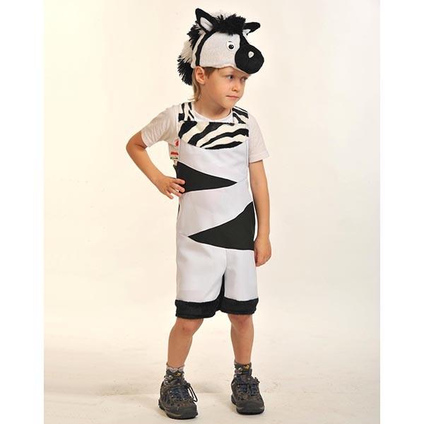 Карнавальный костюм Зебрёнок k2019