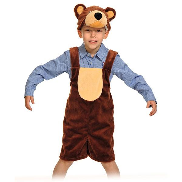 Карнавальный костюм Мишка бурый арт 3010