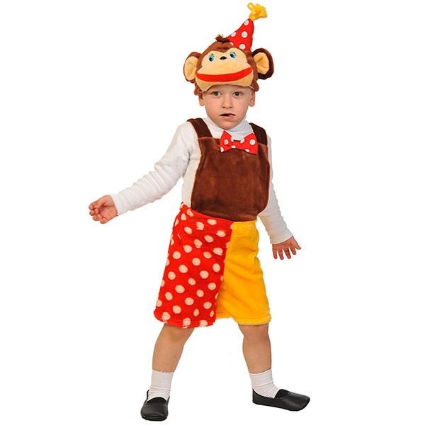 Карнавальный костюм Шимпанзенок из цирка k3071