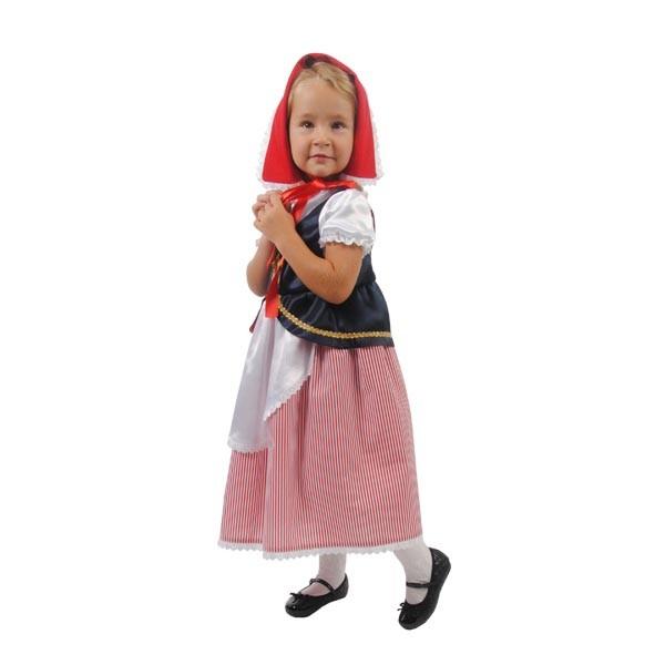 Карнавальный костюм Красная шапочка Люкс арт. 102 052 164