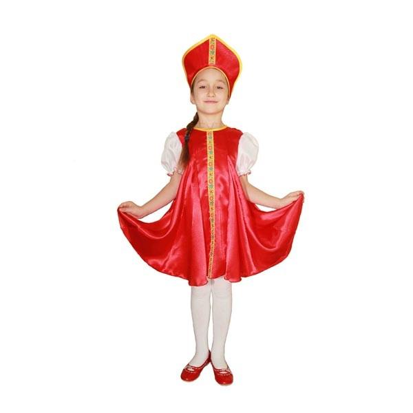 Карнавальный костюм Царевна (красный цвет) арт. 102036164