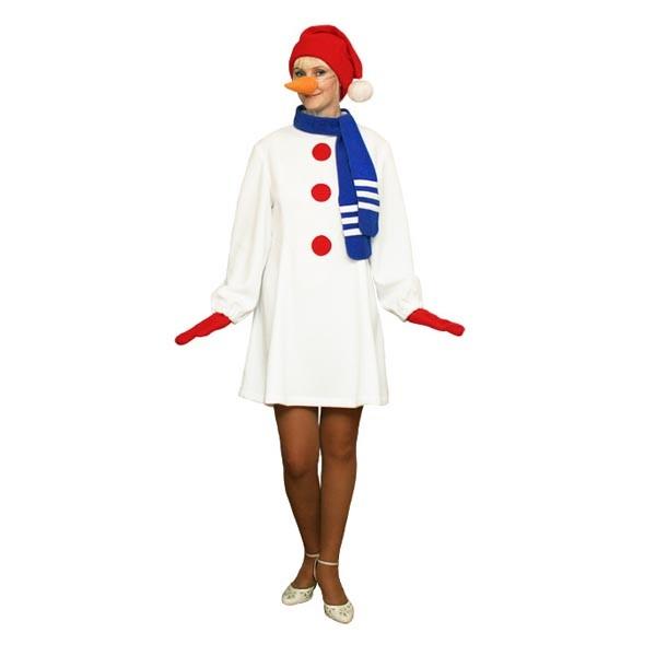 Карнавальный костюм Снеговик арт KKVd-28b