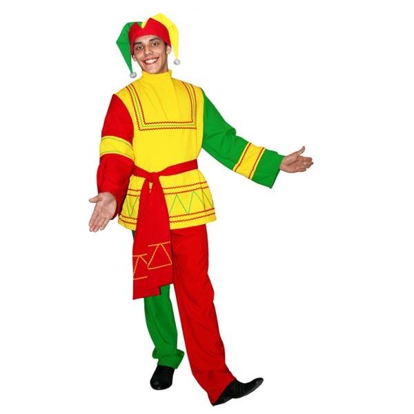 Карнавальный костюм Скоморох арт KKVm-1-28