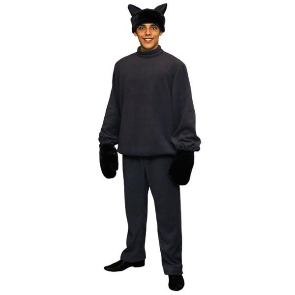 Карнавальный костюм Серый Волк арт KKVm-8ser