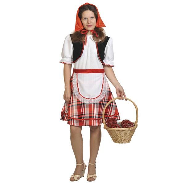 Карнавальный костюм Красная шапочка K1075