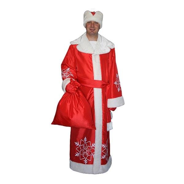 Карнавальный костюм Деда Мороза арт M-104k