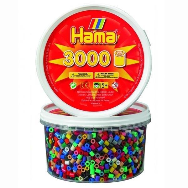 Детская развивающая игра Мозаика «Набор бусин в банке» арт. 21000