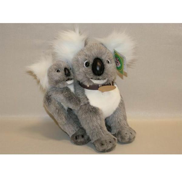 Мягкая игрушка Коала с детенышем