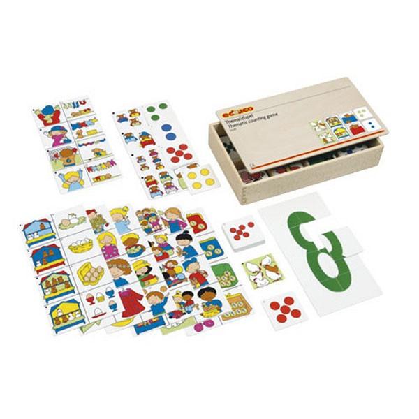 Детская развивающая настольная игра «Учимся считать» арт. 522401