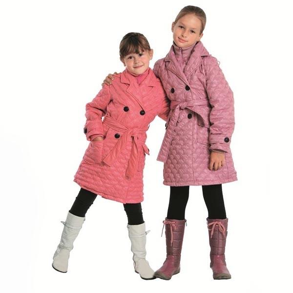 Пальто для девочки Агата