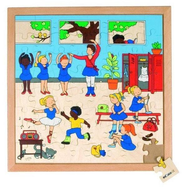 Детская развивающая игра Пазл «Балет» арт. 522880